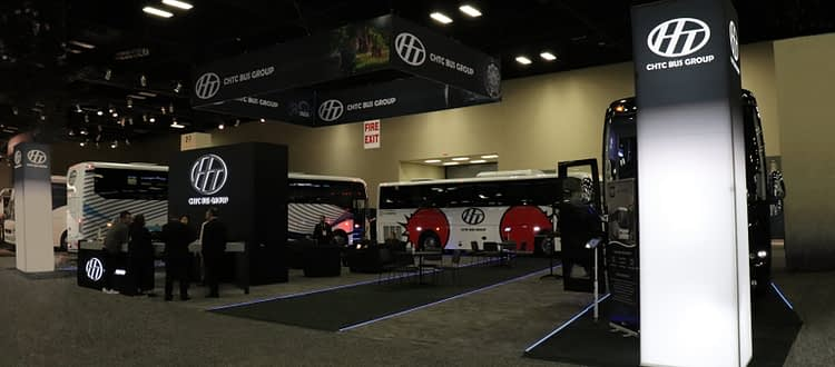 CHTC Tradeshow Booth for UMA LCT